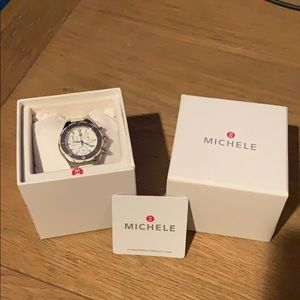 Michele Tahitian Jelly watch with box